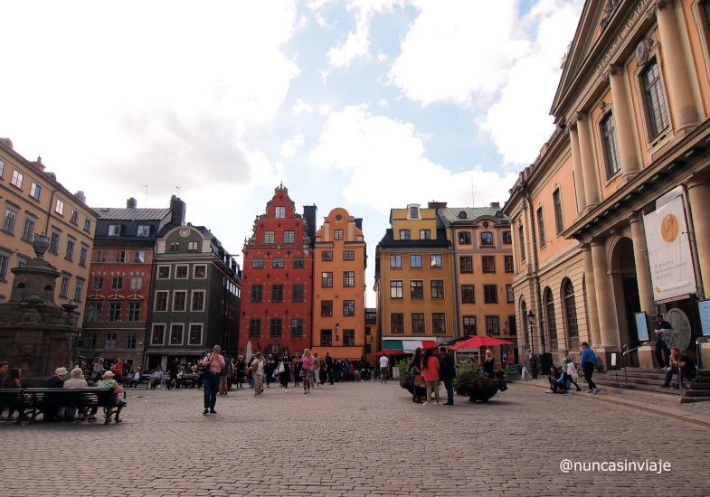 Plaza Casco Viejo Estocolmo