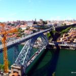 puente de Luis en Oporto