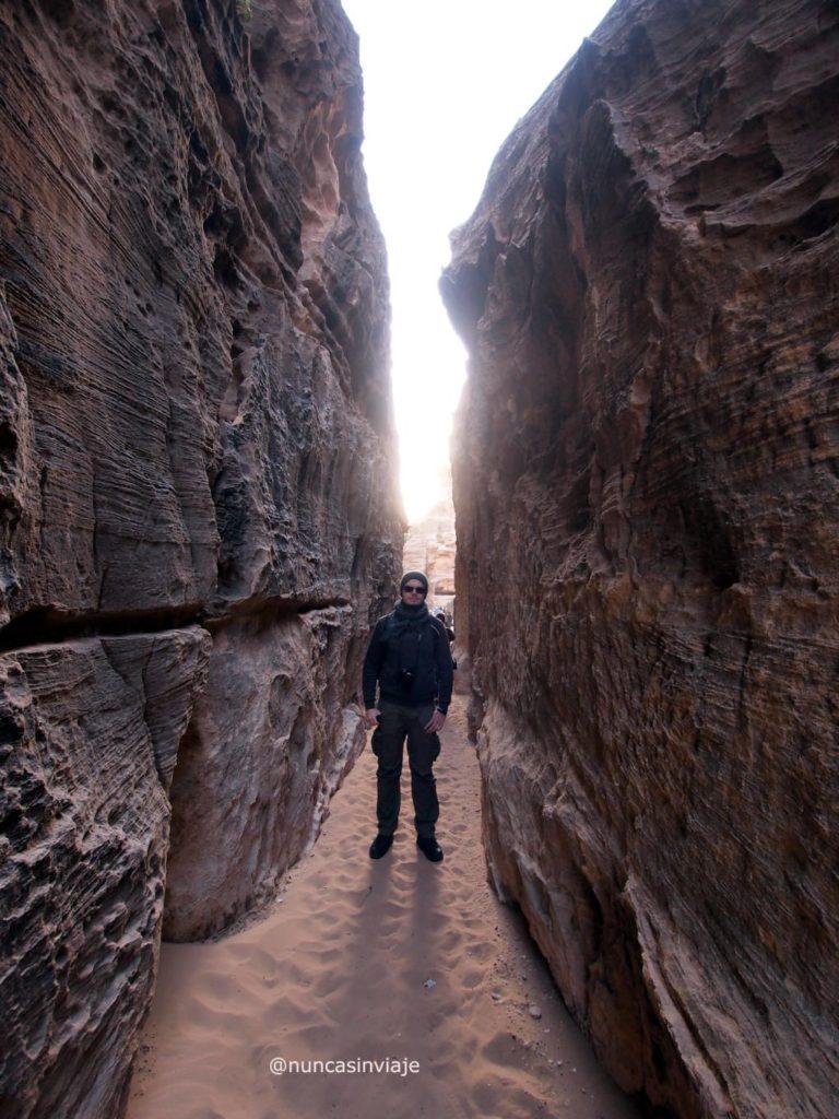 Desfiladero Pequeña Petra