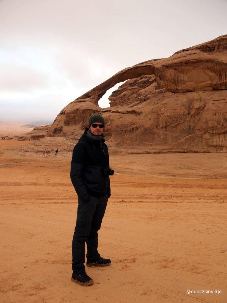 Formaciones rocosas en el desierto