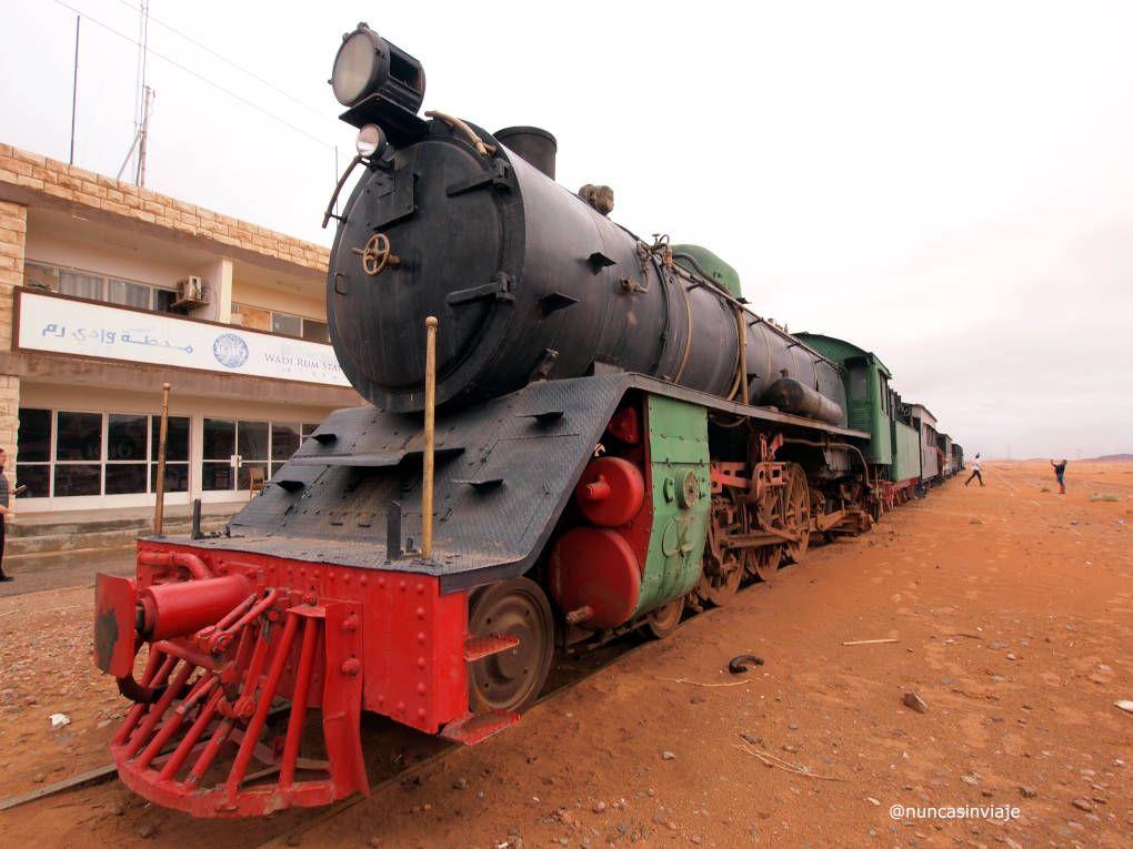 Estación de tren de Wadi Rum