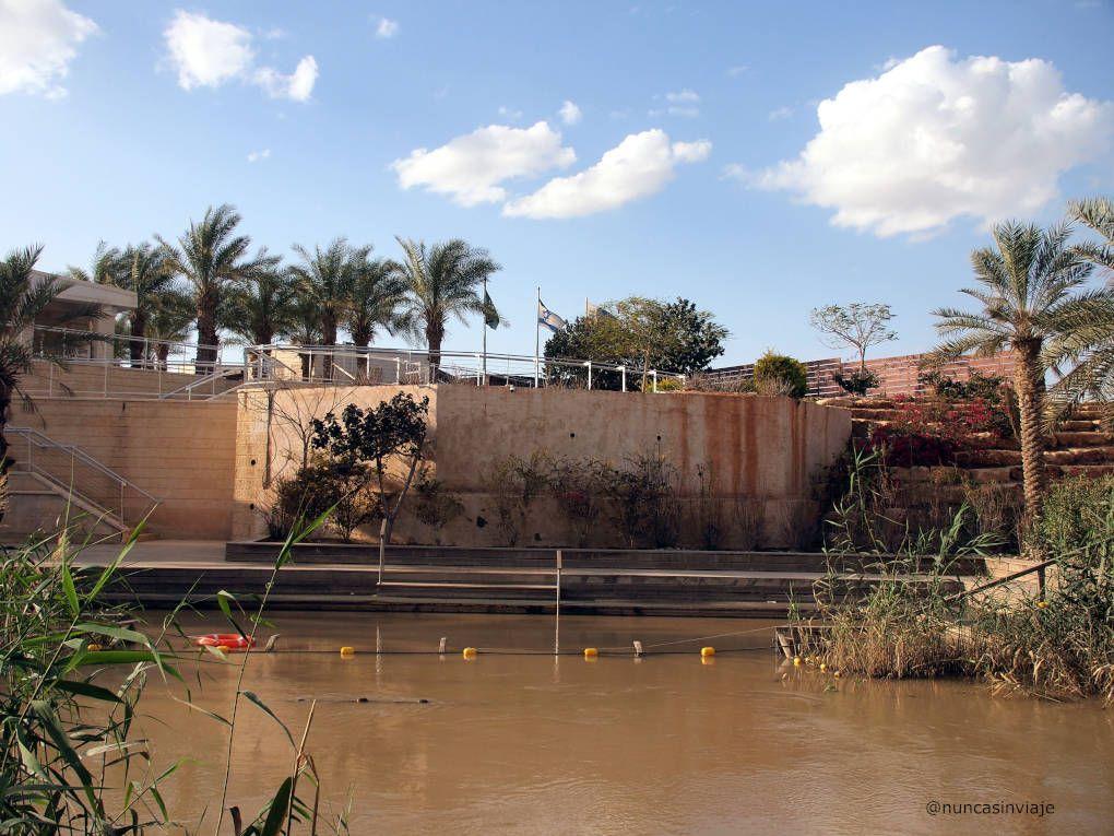 Instalaciones de Israel al otro lado del río