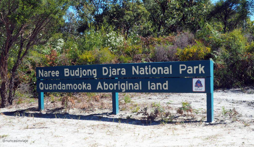 Tierras aborígenes en North Stradbroke Island