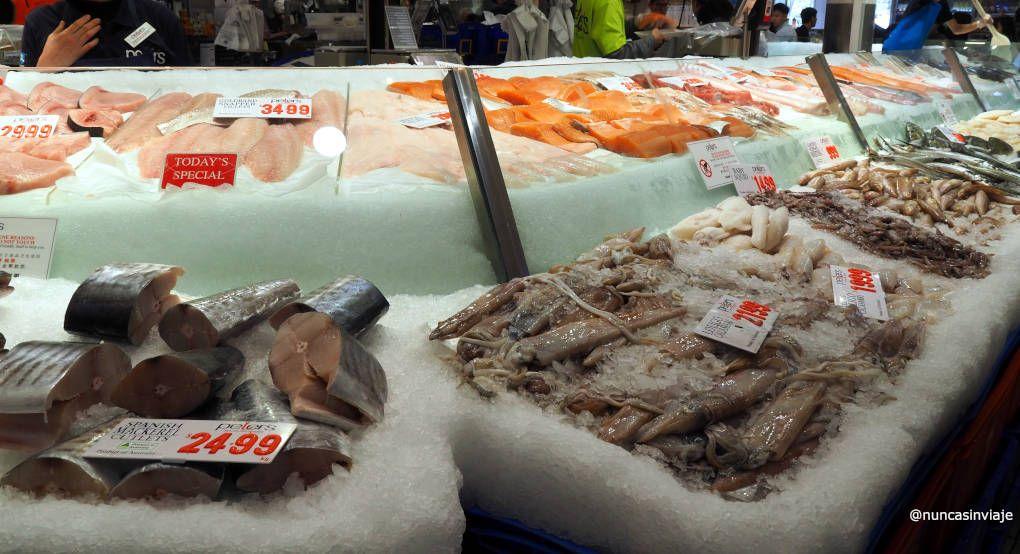 Mercado del pescado de Sidney