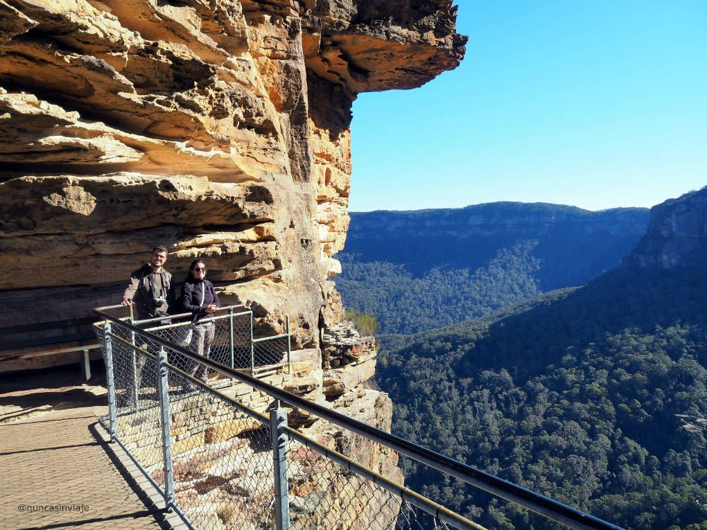 Mirador en Blue Mountains