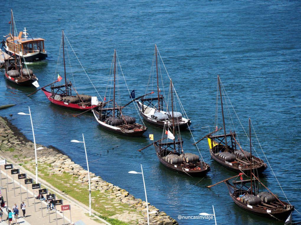 Barcos en Vila Nova de Gaia
