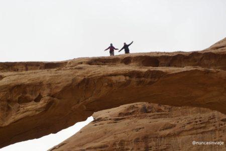 arco en Wadi Rum
