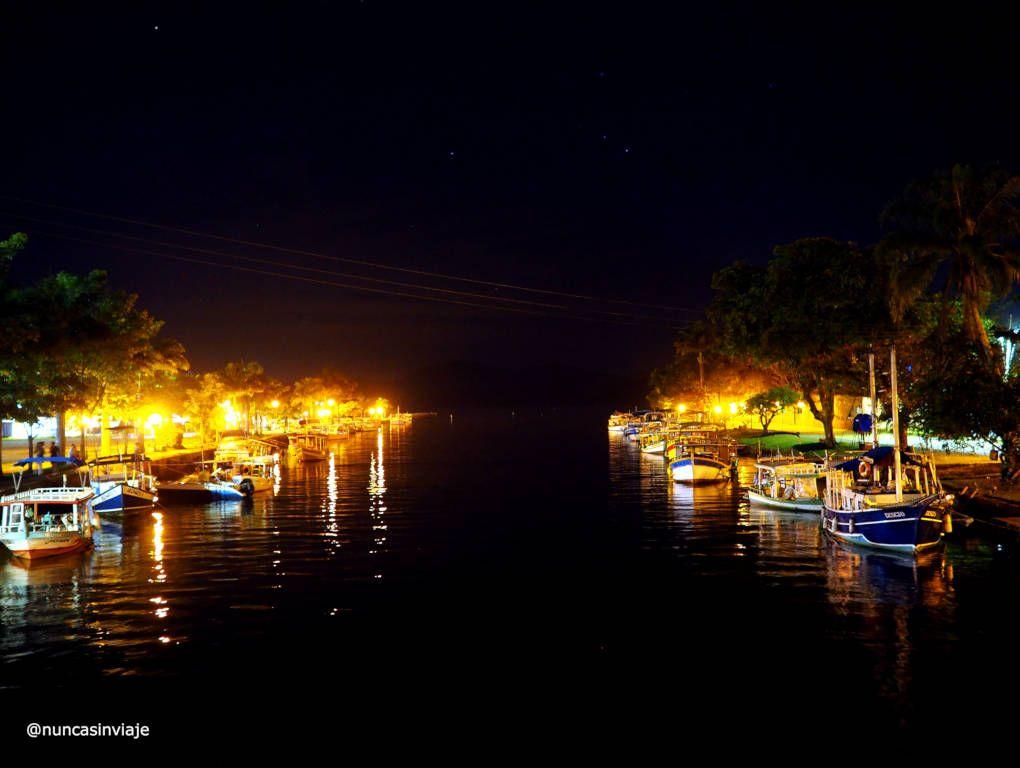 Barcos en el Río en Paraty