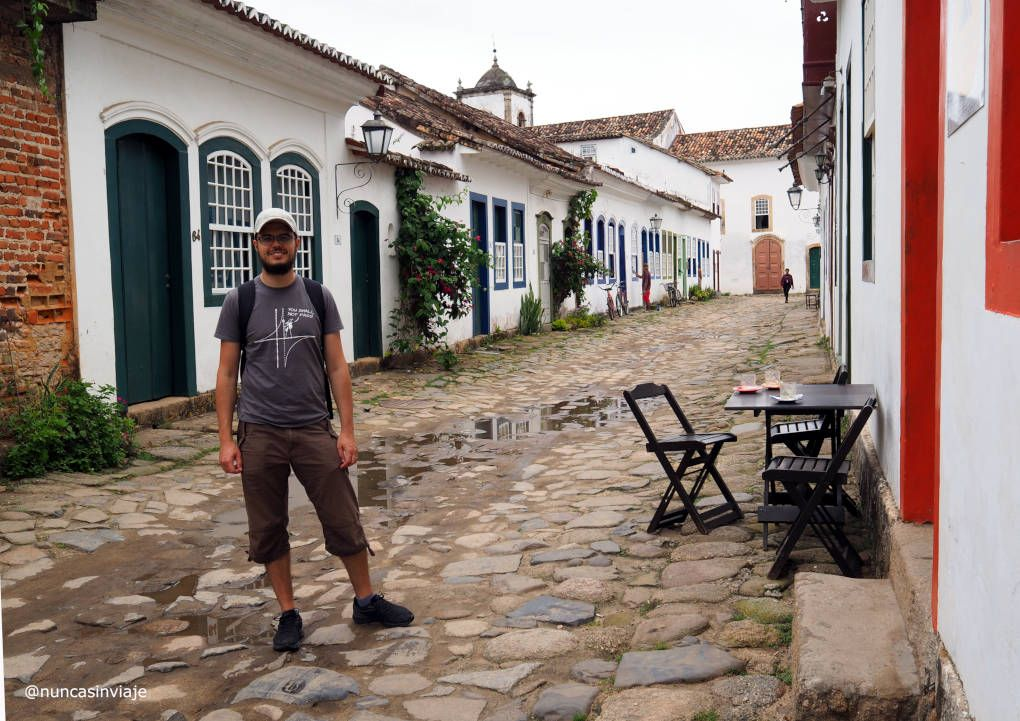 Calle pintoresca en Paraty