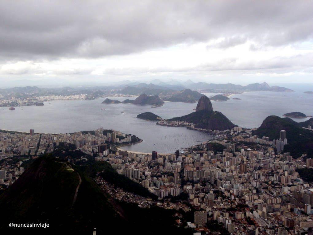 Vistas desde el Cerro Corcovado