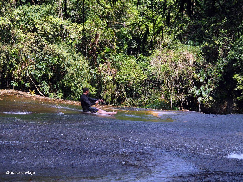 cachoeira do tobogán