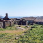Aldea abandonada en la isla de Sálvora