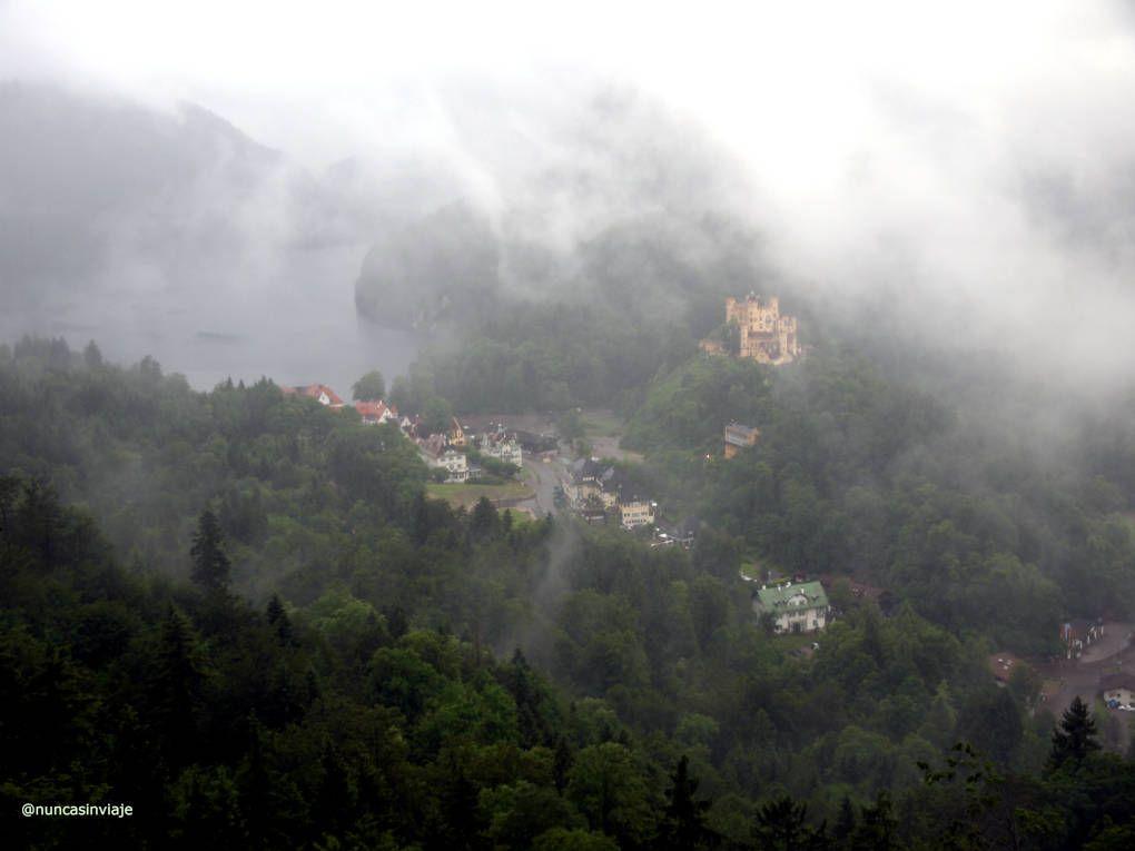 Vistas desde el castillo de Neuschwanstein