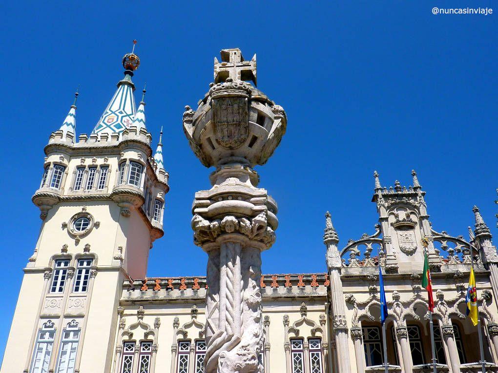 Edificio del ayuntamiento o Cámara Municipal de Sintra