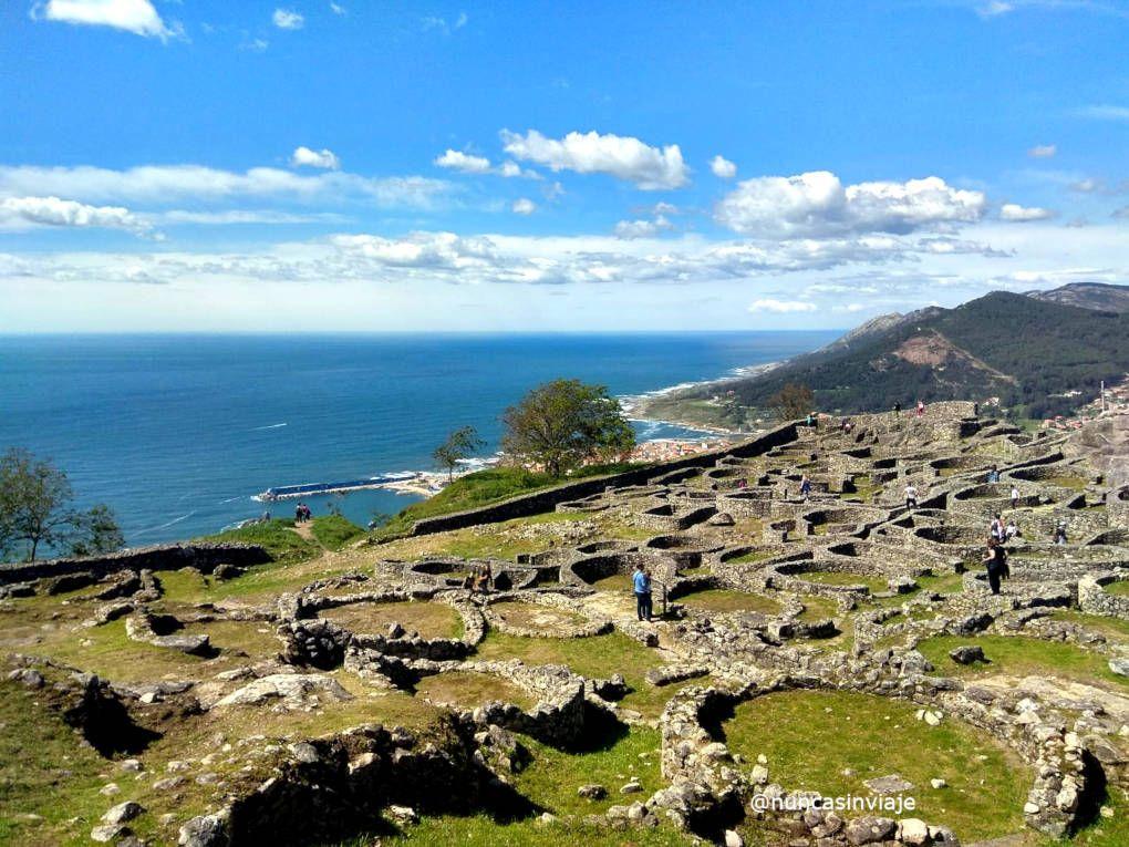 Qué hacer cerca de Vigo: Castro de Santa Tecla en A Guarda