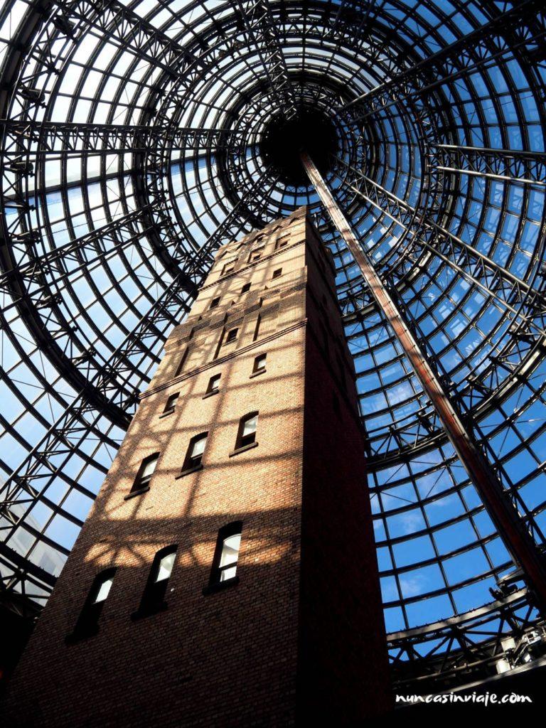 Torre en la estación central de Melbourne