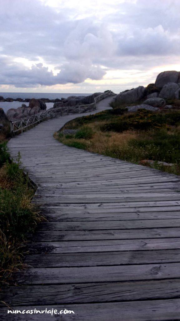 Qué ver en O Grove: sendero de Pedras Negras