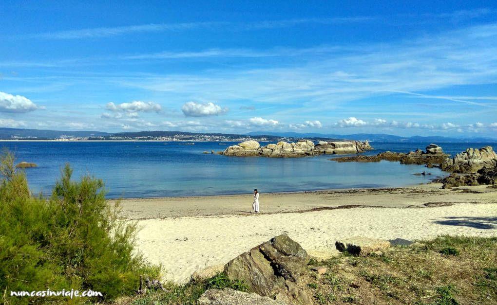 Qué ver en O Grove: playa de San Vicente