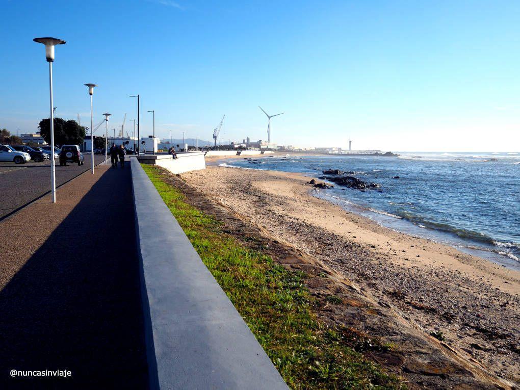 Playa Norte en Viana do Castelo