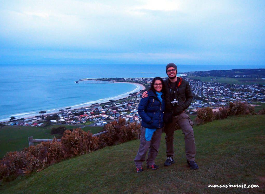 Apollo Bay desde Marriner's Lookout