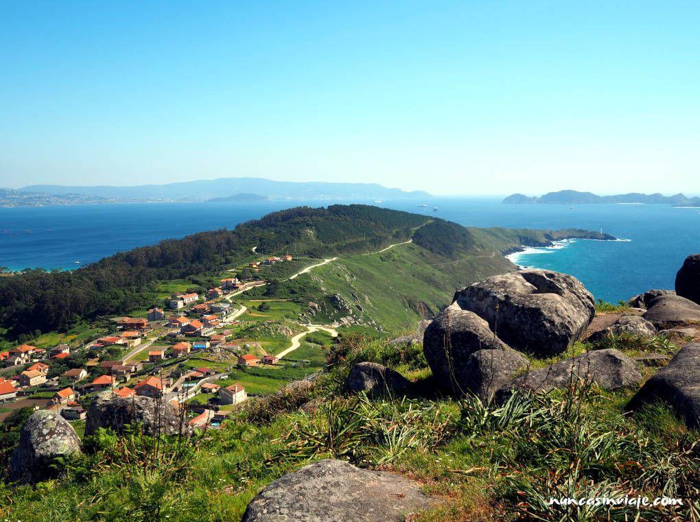 Península del Morrazo desde el Monte do Facho