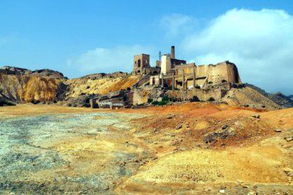 Minas abandonadas de Mazarrón
