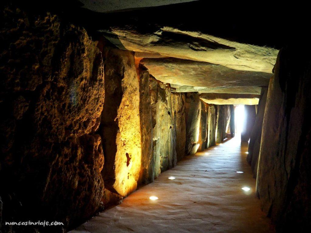 Cámara interior del megalito