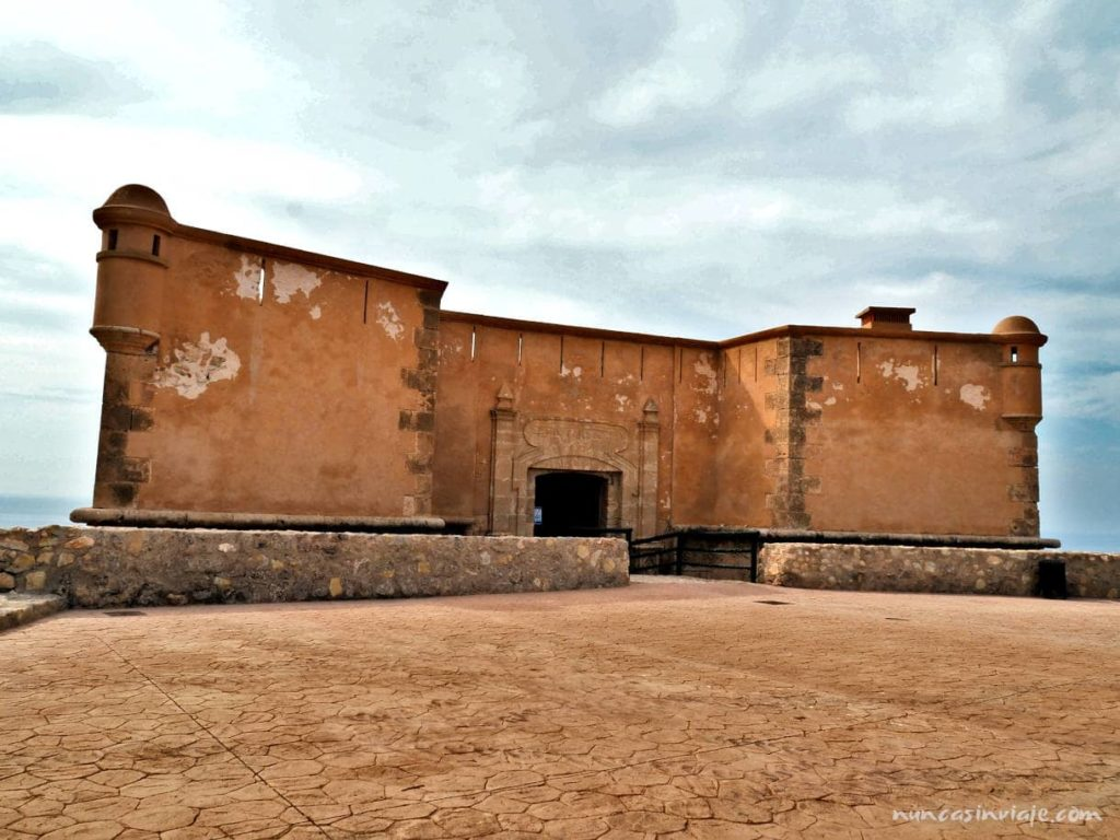 Castillo de San Juan de los Terreros, donde se puede hacer una visita virtual de la Geoda de Pulpí