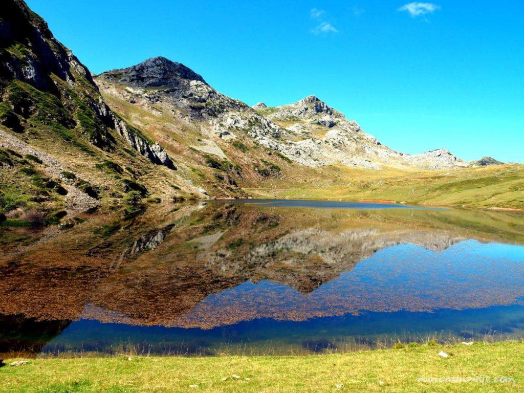Lago Cerveiriz, uno de los lagos de Saliencia