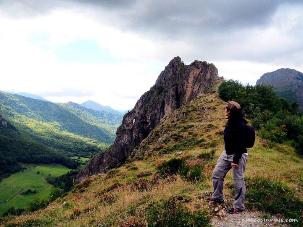 Piedra Furada, uno de los puntos más característicos de la ruta.