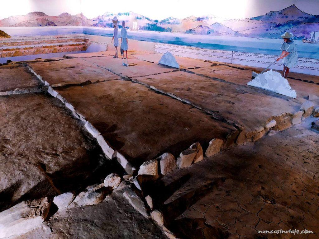 Ruinas romanas Salinae en Vigo