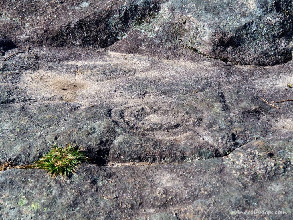Petroglifos en Redondela