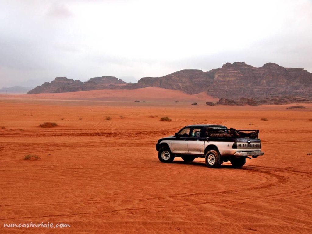 Excursión por el desierto de Wadi Rum