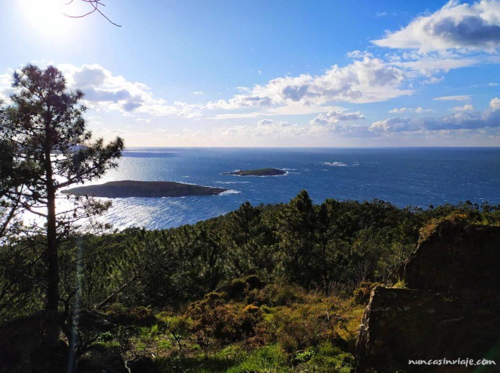 Mirador hacia las islas Estelas