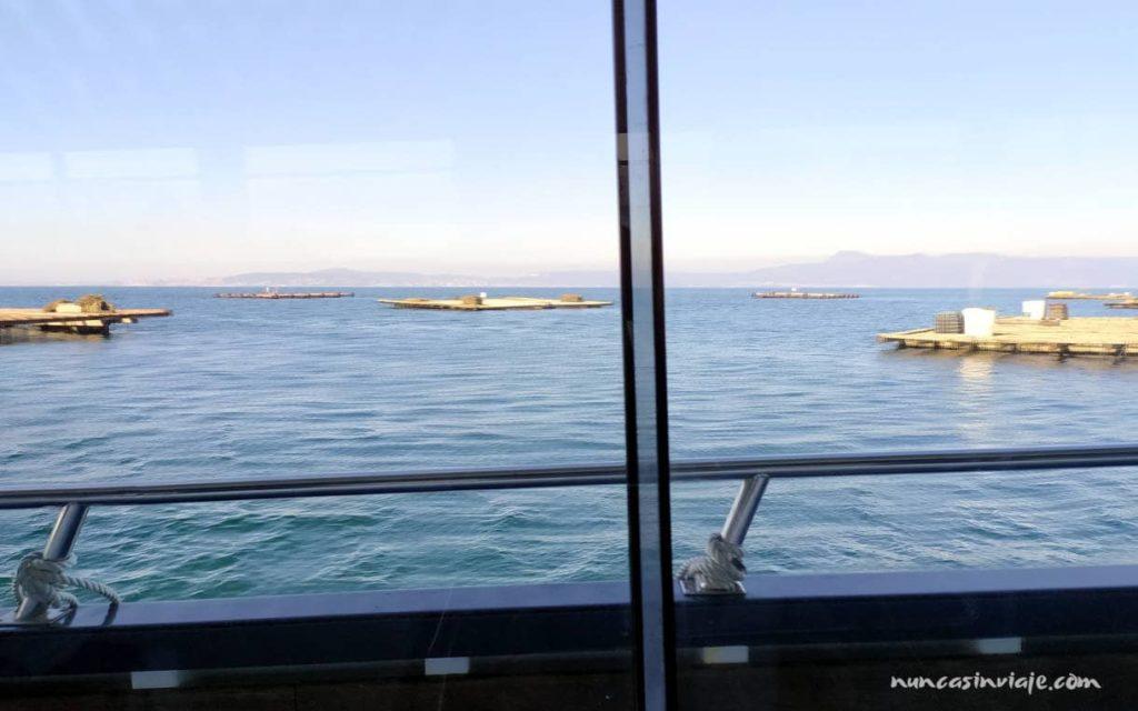 Barco a Sálvora