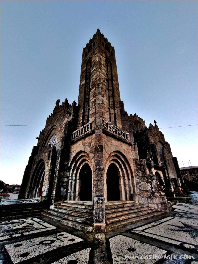Templo Votivo del Mar en Panxón