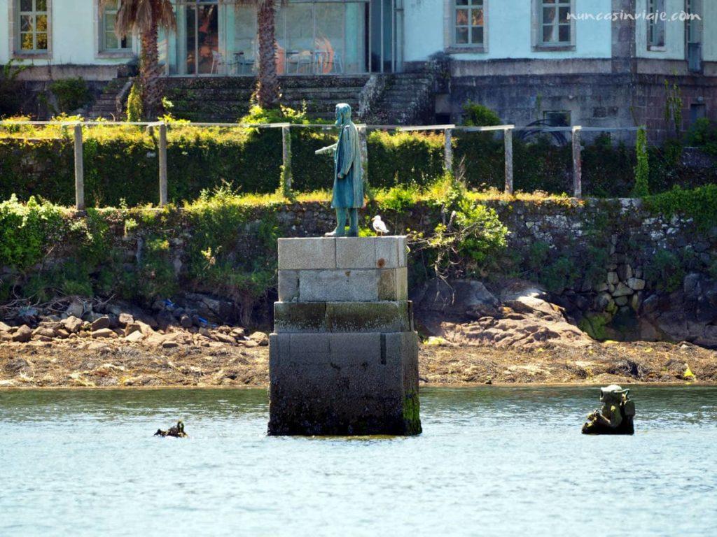 Estatua del capitán Nemo