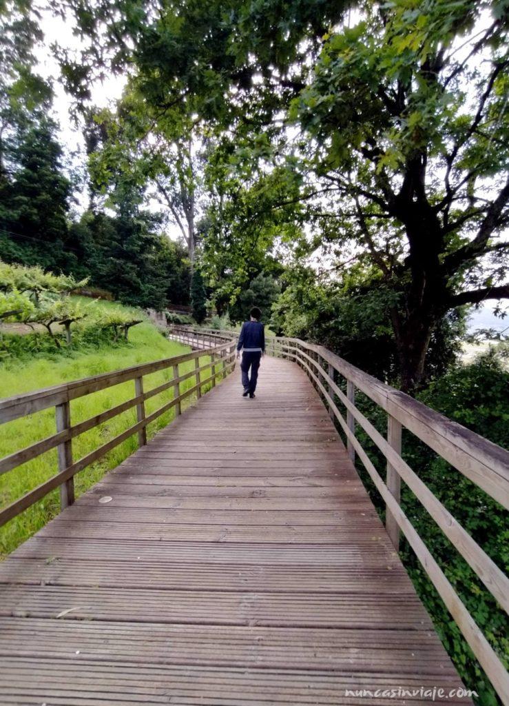 Paseo da Portela en Redondela