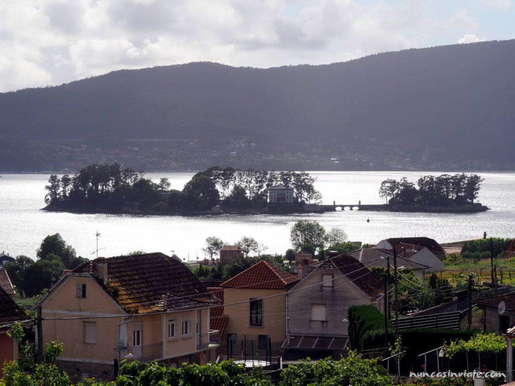 Isla de San Simón desde Cesantes