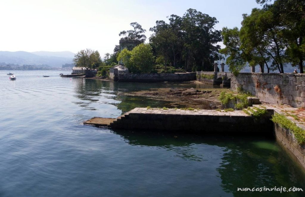 Muelle en San Simón