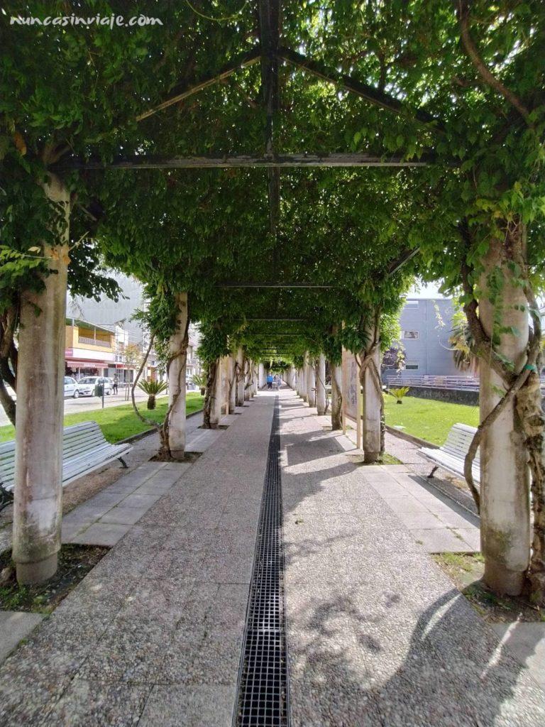 Paseo da Xunqueira en Redondela