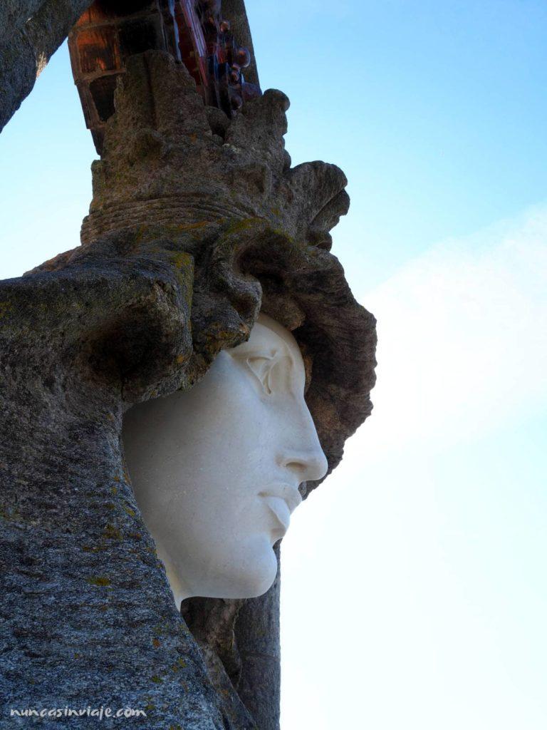 Cara de la Virgen de la Roca
