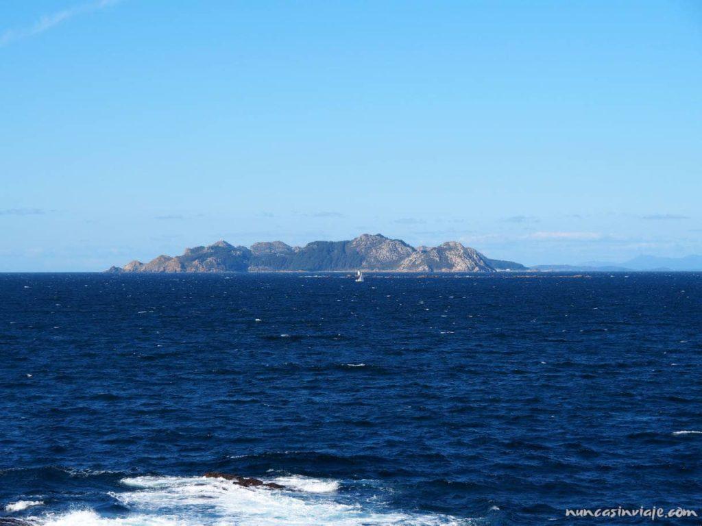 Islas Cíes desde Baiona