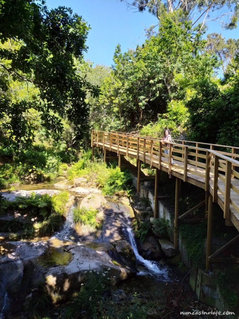 Senda fluvial de Baredo en Baiona