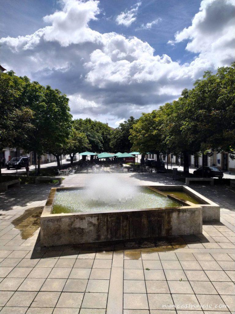 Plaza de la República en Melgaço