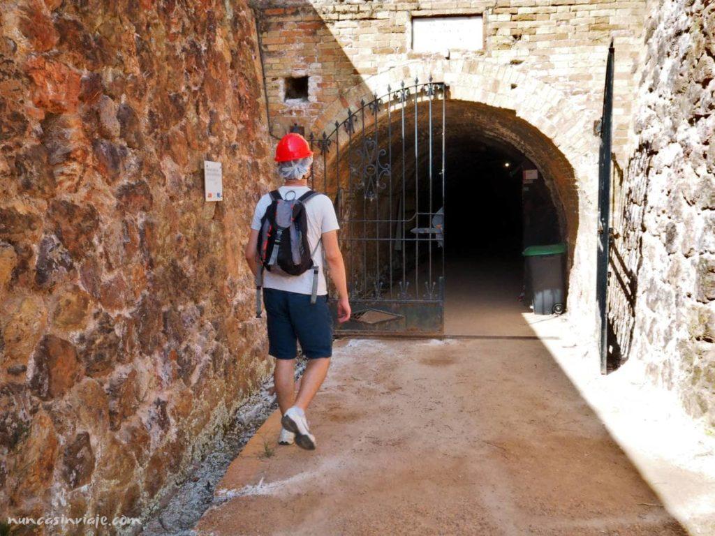 Entrada minas de Riotinto