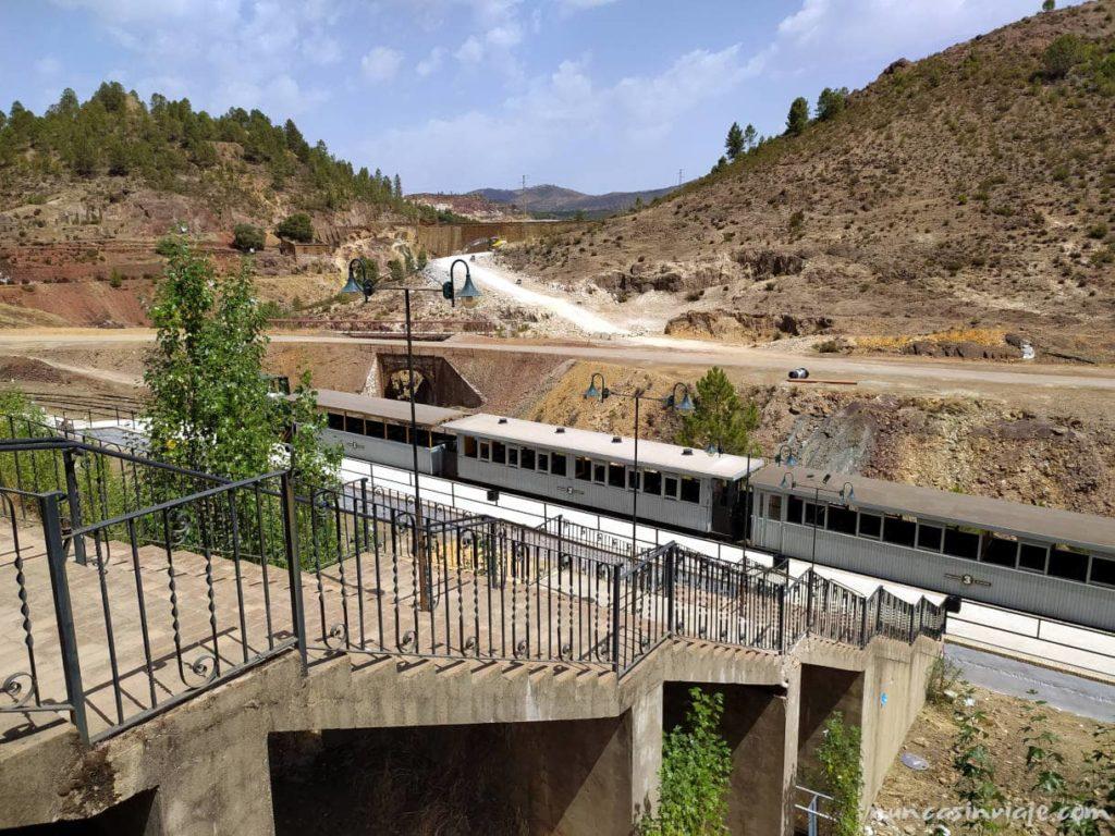 Estación del Tren Minero de Riotinto
