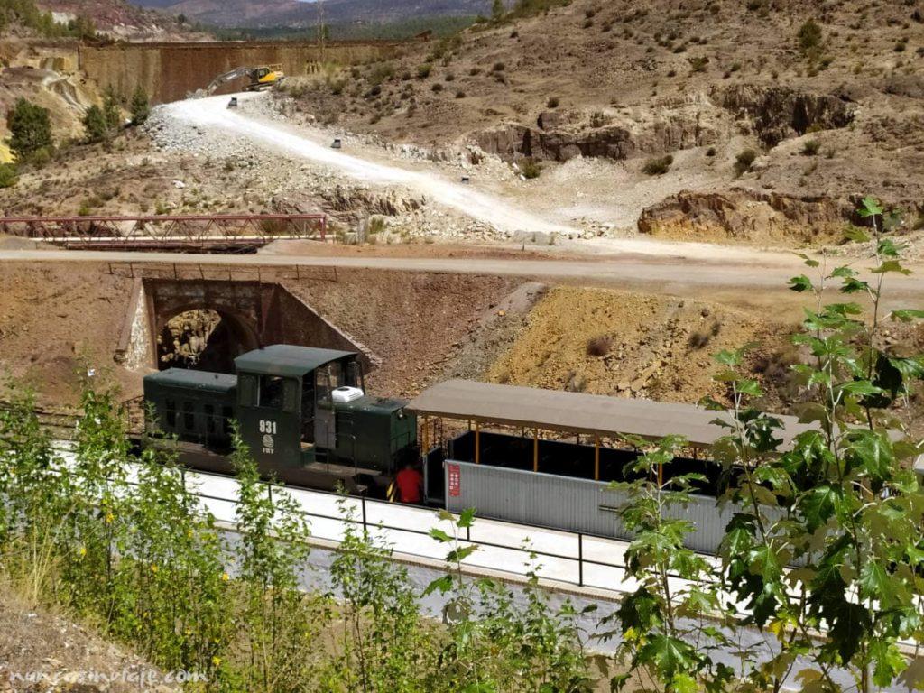 Estación turística del Tren Minero de Riotinto
