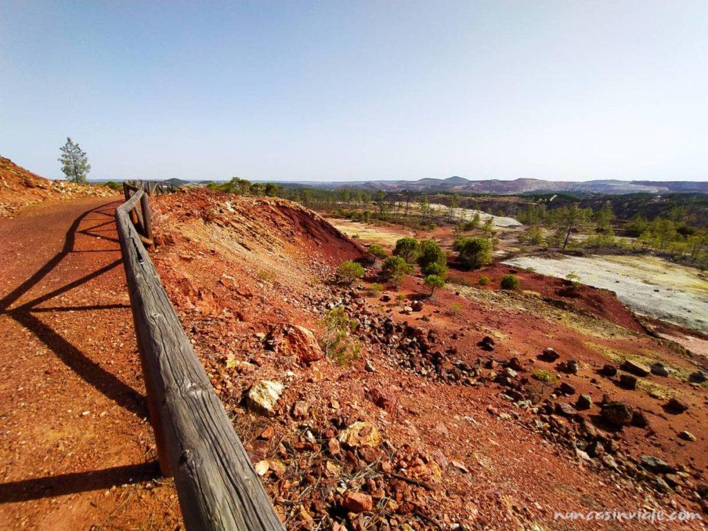 Paisaje en las minas de Riotinto