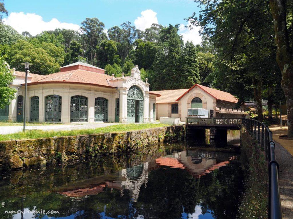Edificio en el Parque Termal do Peso en Melgaço